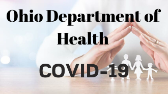 Ohio Department of Health link to COVID 19 Information