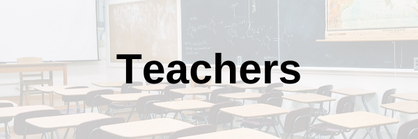 "An image of a classroom with the word ""Teachers"" on it."