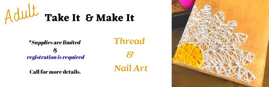 Our next make it and take it project